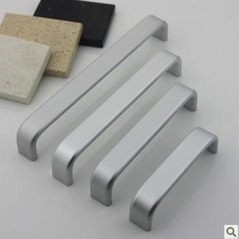 Furniture Hardware Kitchen Cabinet Handle, Bar Pull Handle type aluminum alloy kitchen accessories