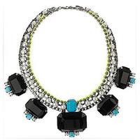 New arrival delicate amazing graceful imitation stone short necklace