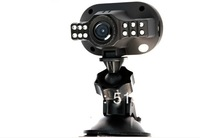 Car DVR Recorder Camera C600 HD 1280*720p 12 LED IR Lights Night Vision 120A+Wide Angle Motion Detection(H-28B)