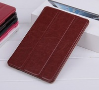 1pcs/lot Business stent Flip Leather Case for ipad 2/3/4 + Retail Package,Free Shipping,C0061