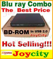 Blu ray combo BD-ROM USB Slim Portable Blu Ray Combo Player DVD CD Drive DVD/CD Burner For Laptop Desktop computer JOYCITY