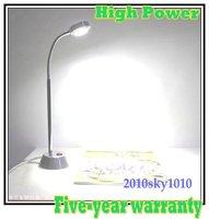 3*3W High Power Alu Tube LED desk lamp White Color Reading Lighting lamps