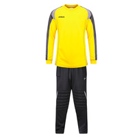 Janus fabric football goalkeeper clothes set goalkeeper clothing top trousers