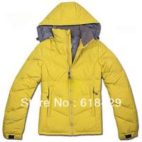 Free shipping Low price Brand winter Regular length 80% duck down coat women (N259)