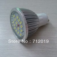 10pcs/lot , Free Shipping Home Lighting GU10 15LED Lamps 5730 SMD GU10 7W Warm/Cold White