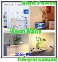 Flexible Tube UP OR Down High Power LED DESK LAMP READING LIGHTING WARM WHITE COLOR