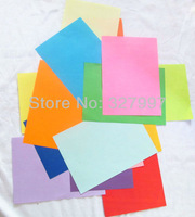 100pcs x Double-side copy 16 color A4 paper for laser Fex Offset Writing colorful paper a4 in free shipping