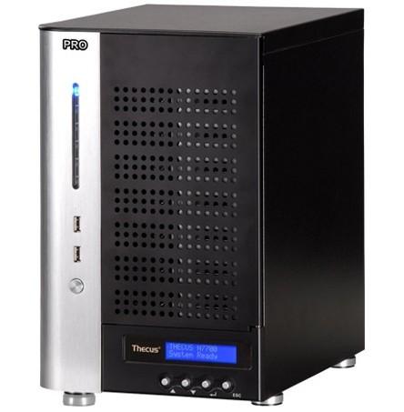 Thecus N7700PRO v2 7-bay NAS Server Diskless System 4GB DDR2 SDRAM, RAID Modes , Network Storage(China (Mainland))