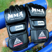 Boxing gloves semi-finger adult gloves sandbagged set male