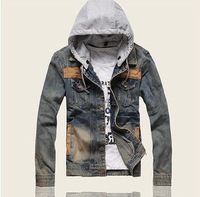 new 2013 autumn coat men casacos outdoor jacket denim jacket jeans coats supernova sale motorcycle jacket men mens outdoors