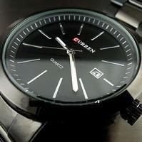 CURREN Brand Watches Fashion Quartz hours Men's Watches  Watch Men Date Hand Wristwatches Men Steel Wrist Watch Free Shipping