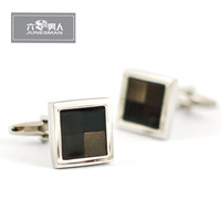 French cufflinks male nail sleeve set male cuff shirt button 097