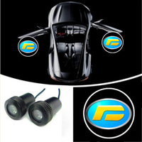 Car LED  Door Projector Laser  Shadow Lamp 2pcs just fit  for fit for Foday