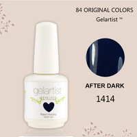 Wholesale New Brand Hot Sale Nail Gel Uv New Nail Art Supplies 15ml  84 Colors   (10colors+1base coat +1top coat)