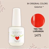 DHL Free Shipping New Brand Gelartist Nail Uv Art Polish Gel Nails 15ml  84 Colors   (22colors+1base coat +1top coat)