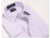 Super Value of 2013 Autumn/Winter Men's Formal Dress Shirts/High Quality  Ripe Businessmen's  Work Stripe Shirts /Free Shipping