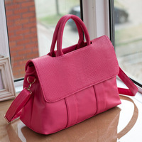 2013 women's casual handbag crocodile pattern clad cover type women's bag handbag messenger bag