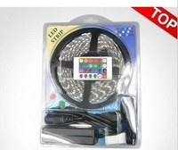 Free shipping the 12 v - LED seven lights with RGB color changing light band 5050/150/300 lamp controller + 24 + 5 a power suit