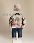 The new 2013 autumn and winter Children's wear boys clothing hat + sweater 2 pieces(China (Mainland))
