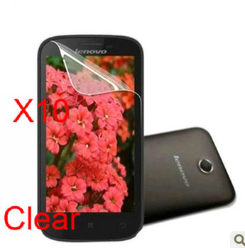 Design Mobile Phone Accessory phone screen protect film For lenovo A760 free shipping 10 pcs high definition film
