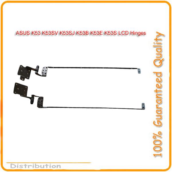 China Post Air Mail Free Shipping 1Pair Laptop LCD Hinge For ASUS K53 K53SV K53SJ K53B K53E K53S LCD Hinges LCD Hinge Hinges(China (Mainland))