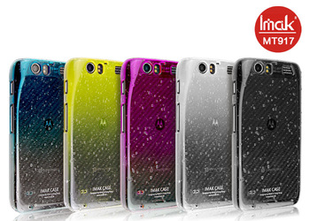 5 color,Imak Raindrop clear case For Motorola MT917 DROID RAZR, with free screen protector,Free shipping