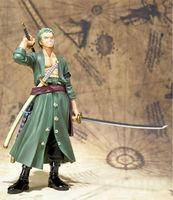 "Anime Roronoa Zoro Action Figure Toys 15cm(6.3"") PVC doll without Original Box One Piece TY003"