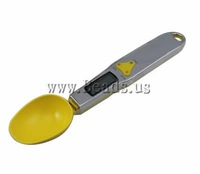 Free shipping!!!Digital Pocket Scale,sale, 316 Stainless Steel, Spoon, yellow, 230x50x23mm, Sold By PC