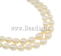 Free shipping!!!Natural Freshwater Pearl Necklace,dream,bridesmaids jewelry, brass clasp, Round, AAA Grade, 3-7mm