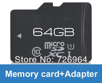 Free shipping Wholesale 2GB 4GB 8GB 16GB 32GB 64GB MicroSD micro SD HC Mirco sd TF Flash Memory Card + SD adapter