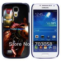 For Galaxy S4 Mini Case, Iron Man Case Cover for Samsung Galaxy S4 Mini i9190 (S4MINI-1456)