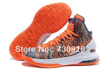 Free Shipping Famous brand shoes men Kevin Durant KD V 5 Christmas Men's Sports Basketball Shoes Size:40-46,kd v shoes 7Color