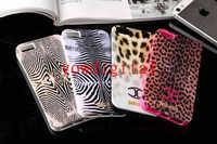 For iPhone 5 5G JustCavalli Micro-Macro Leopard Zebra Soft TPU case cover skin Puro Just Case Cover
