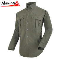 Free shipping Ma outdoor fast drying clothing male disassembly long-sleeve anti-uv breathable quick dry clothing