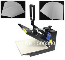 15×15 Heat Press Dark/Light Inkjet T-shirt Transfer Paper Ink DIY Printing KIT