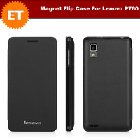 Original Magnet Flip Case for Lenovo P780 Smartphone Color Black