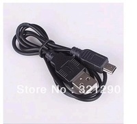 USB Cable 5PIN MINI B TO A USB 2.0 Cable for Camera PSP MP3 Mp\P4 MP5 10Pcs/lot Free Shipping