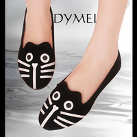 2013 autumn saidsgroupsdirector shoes fashion shoes flat heel single shoes female shoes cat shoes
