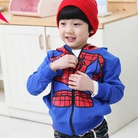 331Free shipment 100% cotton child cardigan outerwear children's clothing autumn 1.1kg wholesales