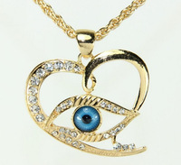 Greek Evil Eye Necklace With Pendant Good Luck Charm & Necklace Unisex Jewelry FREE SHIPPING 002