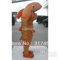 NEW STYLE Fish  Mascot Costume Adult Character Costume Cosplay mascot costume free shipping