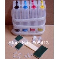 FreeShipping Continuous Ink Supply System Universal 4Color CISS kit with accessaries ink tank for Epson/HP/Brother