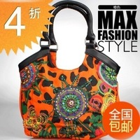 Handmade kasita 2-illust desigual handbag canvas bag