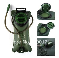 2L TPU Bicycle Mouth Sports Water Bag Bladder Hydration Camping Hiking Climbing Military Green