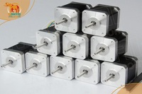 EU Free From Germany! Wantmotor 10PCS Nema17 Stepper Motor 42BYGHW208 2600g-cm 34mm 0.4A 4-Lead CE ROHS ISO 3D Printer