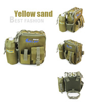 Free shipping&New arrival fishing bags Yellow sand outdoor sports fishing tackle only $19.99/pcs