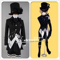 Black Butler Kuroshitsuji dollmaster black dress Ciel Phantomhive cosplay costume