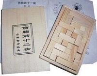 Adult wooden educational toys classical lubanjiang wood 0.18