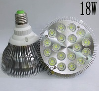 Dropship E27 18W Par 38 PAR38 LED Bulb Lamp Light 85-256V with 18 LEDS Light Warranty 2 years CE & RoHS -- free shipping