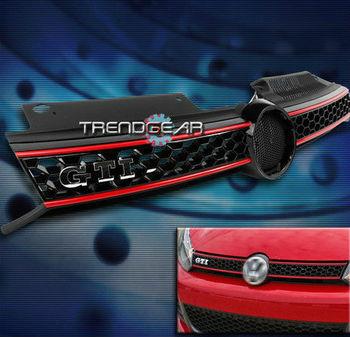 Free shipping 2010 2011 2012 VW GOLF GTI JETTA MK6 TDI FRONT UPPER HOOD GRILLE HONEYCOMB MESH